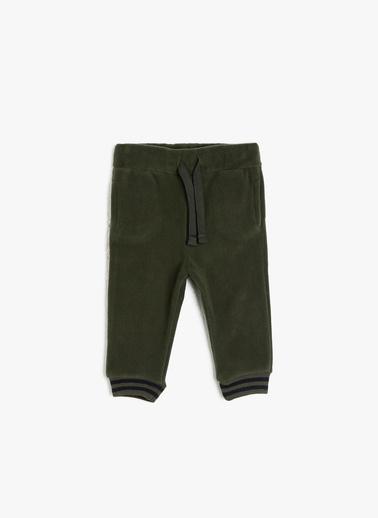 Koton Kids Beli Bağlamalı Esofman Altı Yeşil